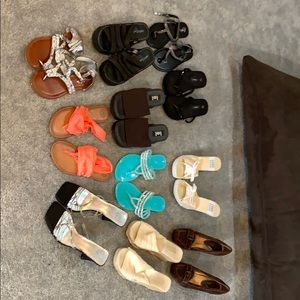 Shoes - Used shoes - various brands - most are size 9